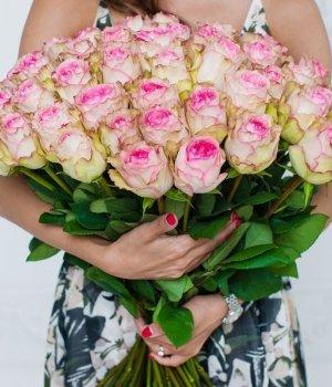 Букет из 51 розы Эквадор (70 см) #338