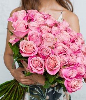 Букет из 49 роз Эквадор (70 см) #530