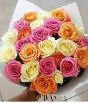 Микс-букет из 29 роз (50см) #498