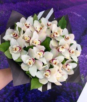 Букет из орхидей (19 шт) #1113