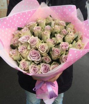 Букет из 39 кенийских роз (40 см) #1172