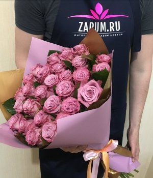 Букет из 29 роз Маритим (50 см) #1339