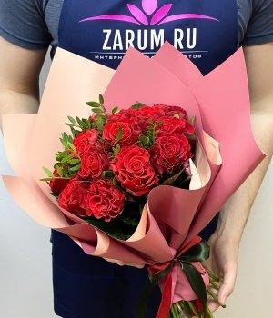 Букет из 15 роз Эль Торро (40 см ) #1916