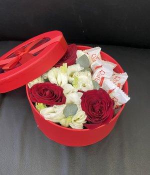 Авторская коробка с Рафаэлло (размер S) #2255